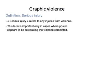 Graphic Violence 11