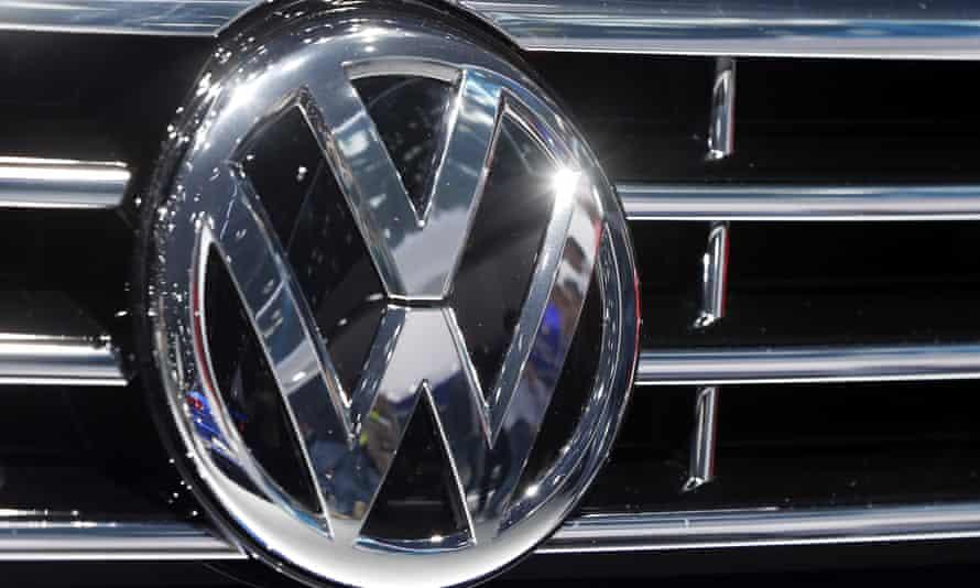 the logo of Volkswagen