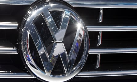 the logo of Volkswagen