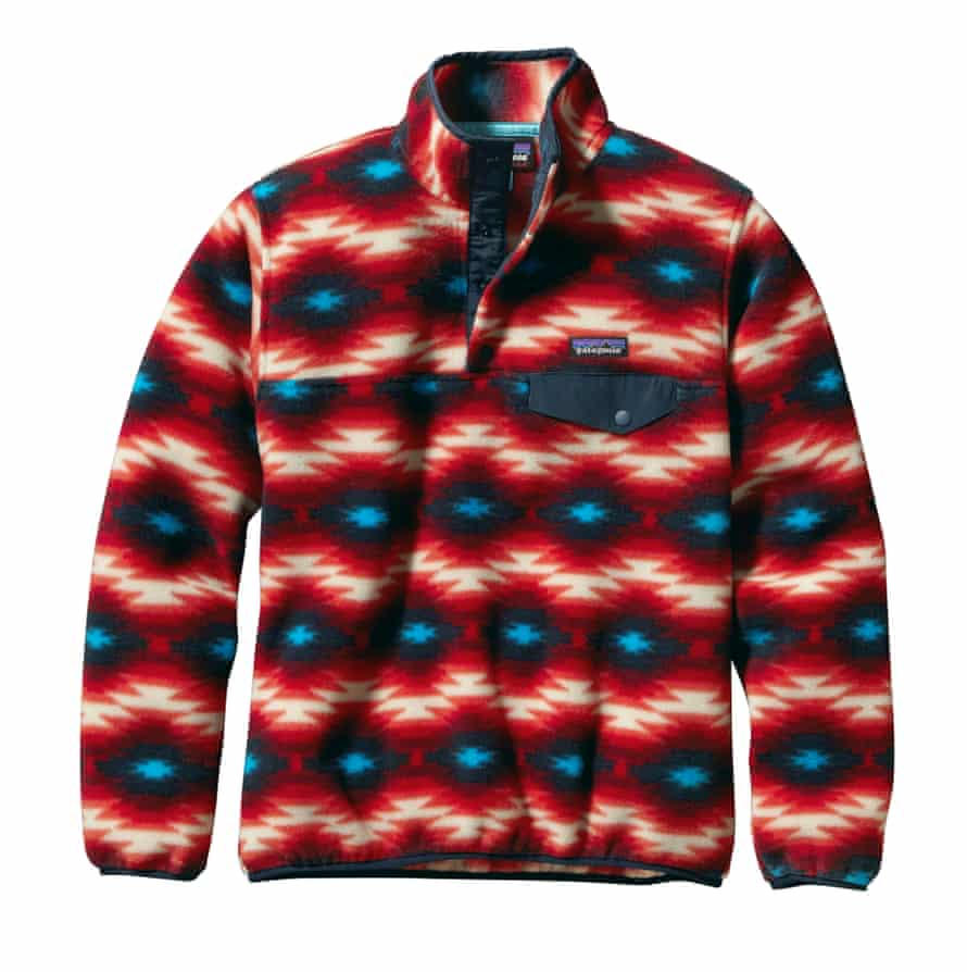 """Lightweight Synchilla Snap-T pullover £90, <a href=""""http://patagonia.com/"""">patagonia.com</a>"""