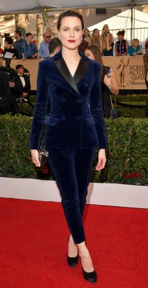Evan Rachel Wood at the Screen Actors Guild awards