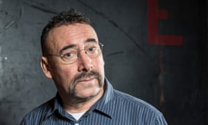 Antony Sher backstage at the National Theatre in London 2013. Photograph by David Levene for the Guardian