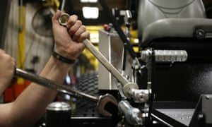 US manufacturers shed 11,000 jobs in April, a significant bump from March when only 3,000 were lost.