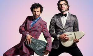 Bret McKenzie and Jemaine Clement.