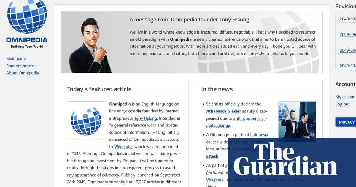 Neurocracy: futuristic murder-mystery fiction as told through Wikipedia