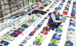 Adidas exhibition at the Blackburn Corn Exchange