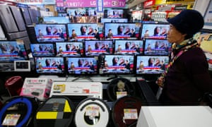 Televisions in Electro Land market