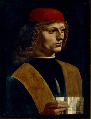 Portrait of a Musician, c.1486-87 by Leonardo da Vinci