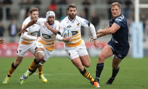 Willie Le Roux was pivotal for Wasps despite just having returned from New Zealand.