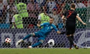 Ivan Rakitic send Igor Akinfeev the wrong way and Croatia are in the World Cup semi-finals!