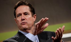 Chief executive of Barclays, Jes Staley