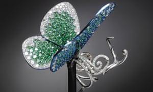 Papillon ring designed by Glenn Spiro.