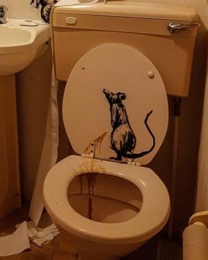New Banksy art