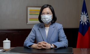 President Tsai Ing-wen pictured earlier this month in Taipei.