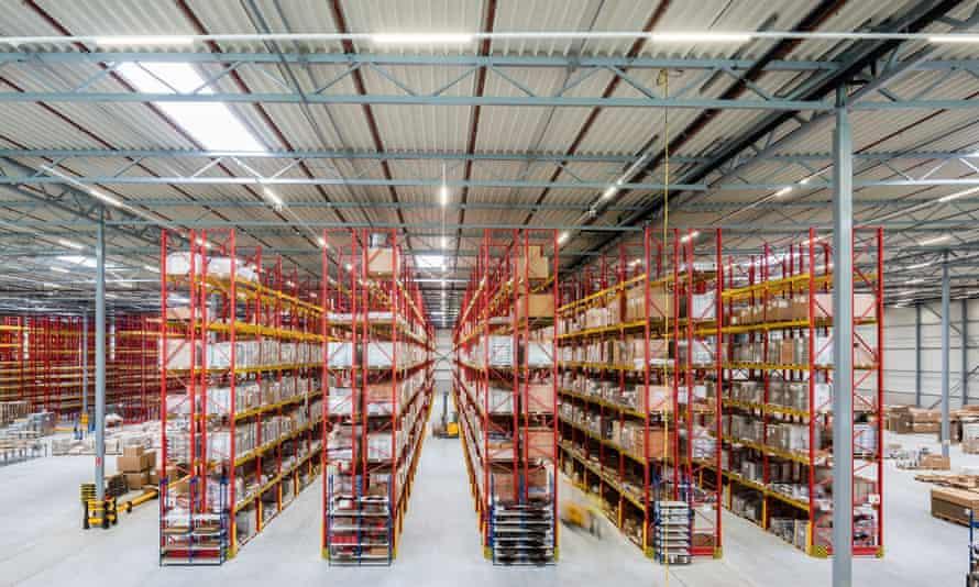 The Prologis warehouse in Nieuwegein, Netherlands.