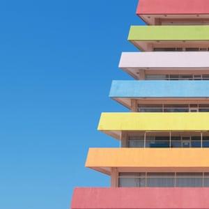An office building in Bornova district, Izmir  by Turkish architect photographer Yener Torun.