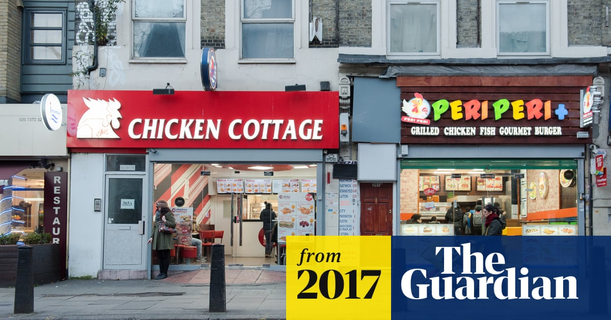 93335a23 Children in poor areas exposed to five times as many fast food takeaways
