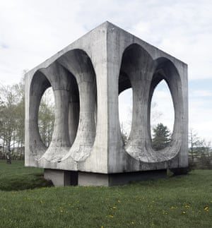 The Freedom Hill monument, in Ilirska Bistrica, Slovenia was built in 1965 and designed by Janez Lenassi and Živa Baraga. All pictures courtesy of Donald Niebyl.