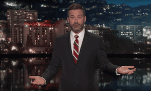 Kimmel: 'He said anything he supported would have to pass what he named the Jimmy Kimmel test, but he proposed a bill that would allow states to do all the things he said he would not let them do.'