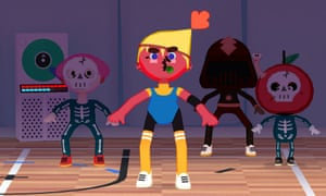 Toca Dance is one of the most creative music apps for children.