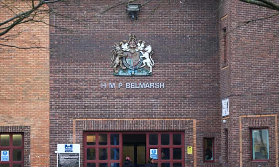 HMP Belmarsh in south-east London