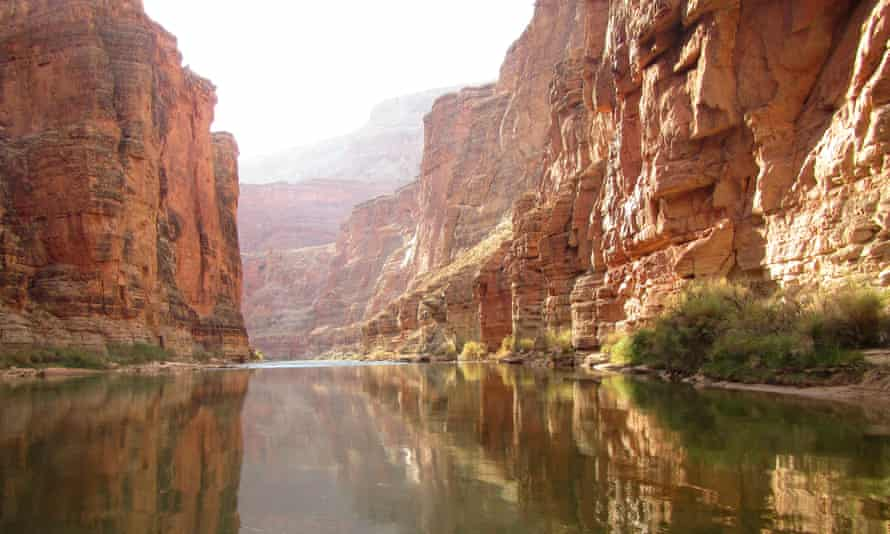 The Redwall section of the Grand Canyon National Park.