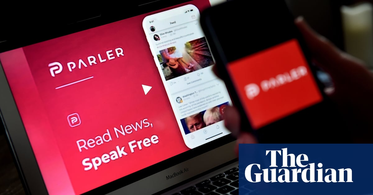 Parler: rightwing social network back online after US Capitol riot controversy - The Guardian