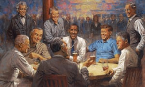 The Democratic Club artwork by Andy Thomas