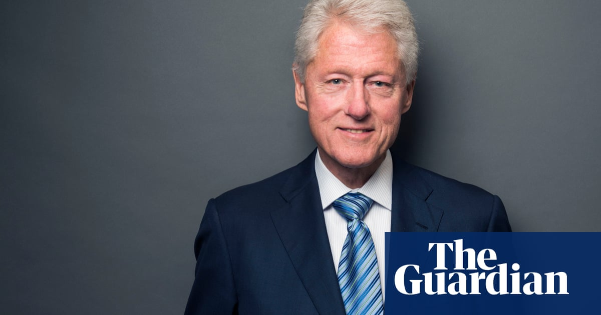 Bill Clinton: 'I always wanted to be a writer, but doubted my ability to do it'