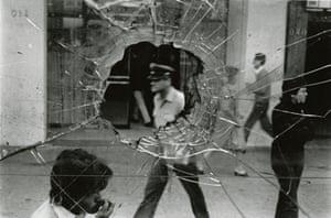 Calle Alameda, Santiago, 1983