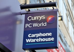 A branch of Currys PC World, with a Carphone Warehouse inside.