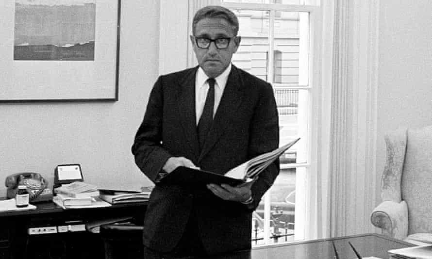 Undated photo of Henry Kissinger.