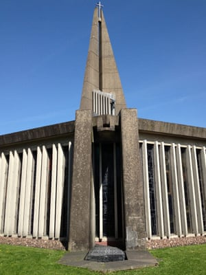 The church of St Thomas More in Birmingham