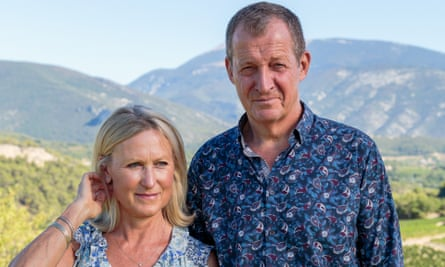 'The openness we have found in recent years, me telling her when the cloud is coming, has really helped us both': Alastair Campbell with his partner, Fiona Millar.