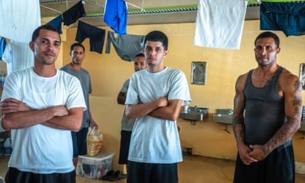 Inmates in the Bayamón correctional complex.