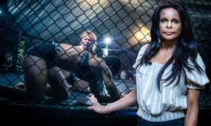 Presenter Annie Price investigates women's cage fighting.
