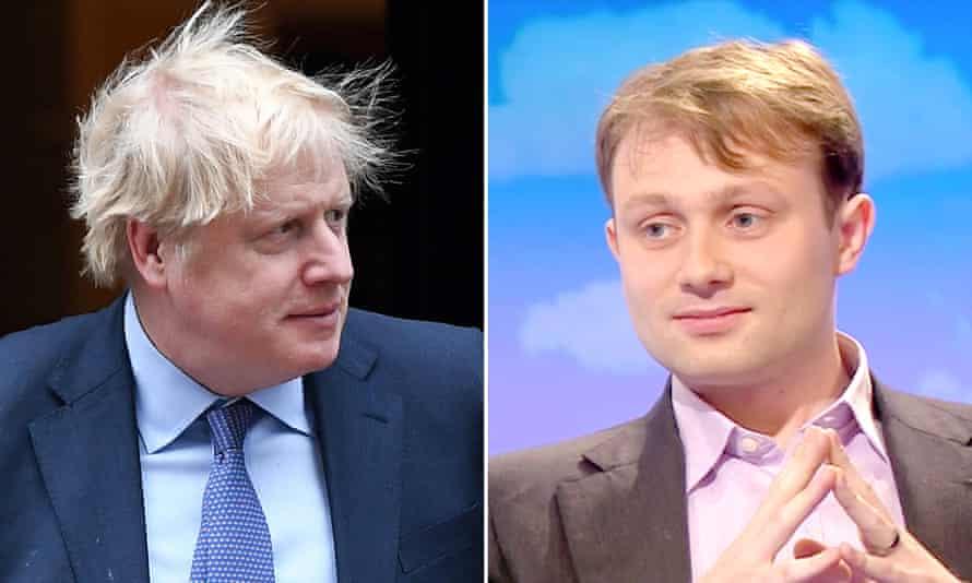 Boris Johnson and Andrew Sabisky composite