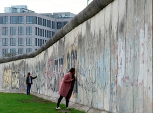 The remains of the Berlin Wall, November 2019.