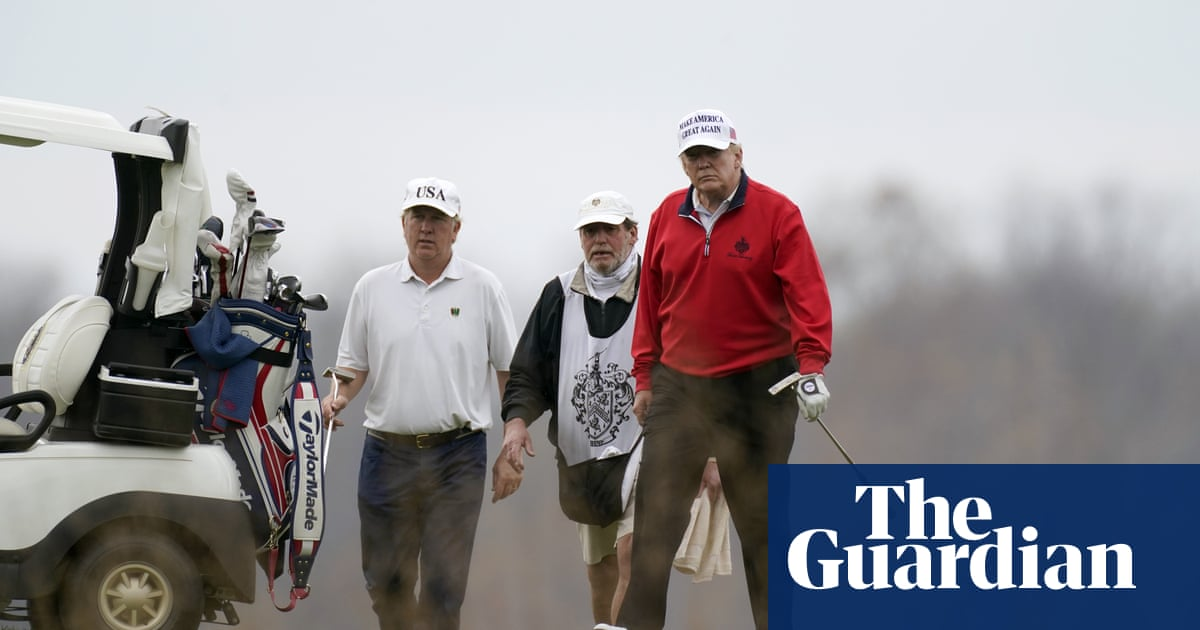 Trump skips G20 pandemic event to visit golf club as virus ravages US – The Guardian