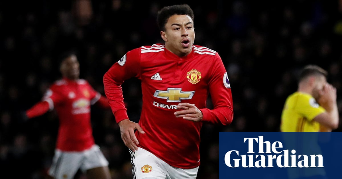 more photos 93ece 4c2d5 Jesse Lingard: is Manchester United's enigma finally ...
