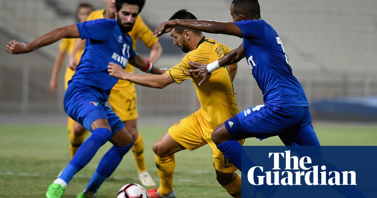 Socceroos give Graham Arnold perfect start with 4-0 win in Kuwait