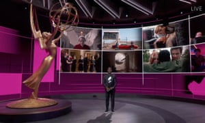 Sterling K Brown in the studio at the 72nd annual primetime Emmy awards.