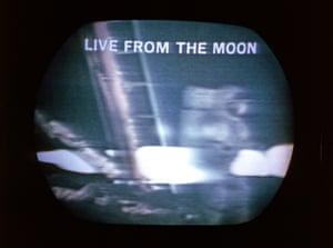 The Apollo 11 coverage on TV.