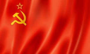 The Soviet Union flag.
