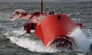 A wave-power generator
