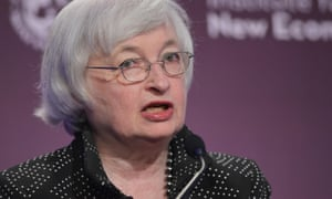 Janet Yellen speaks at the IMF.