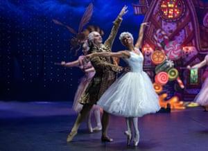 Copeland with Sergei Polunin in new Disney fantasy The Nutcracker and the Four Realms.