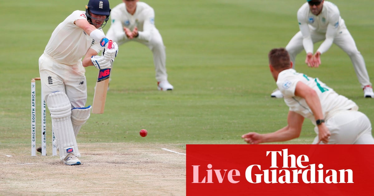South Africa v England: tourists need 376 to win first Test on day four – live!