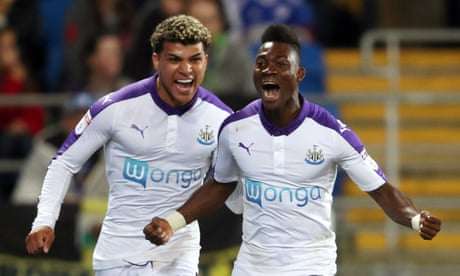 Christian Atsu fires up Newcastle to keep title hopes alive