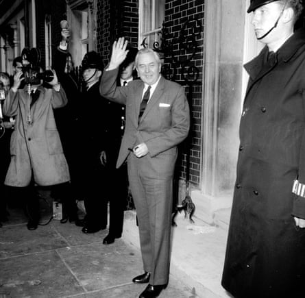 Harold Wilson ... there were recurring rumours about servicemen plotting to undermine him. Photograph: Roger Jacks/Getty Images